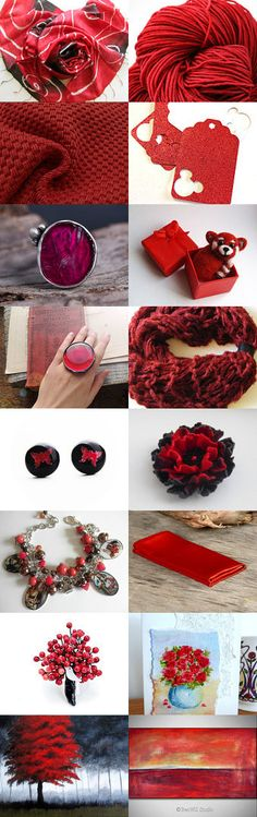 RED Passion by Yevheniya Shcherbyna on Etsy--Pinned with TreasuryPin.com