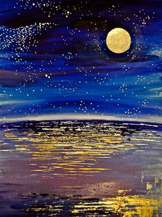 """""""Iridescent Evening"""" ~ by tymurphy11.  Prints available for purchase.  #art #journal"""
