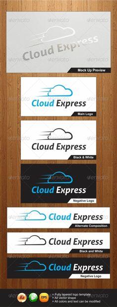Cloud Express Logo - Graphicriver