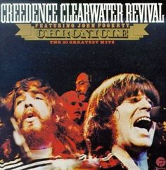 Own 20 years of classic rock favorites from this notable southern rock band with this Creedence Clearwater Revival - Chronicle: The 20 Greatest Hits vinyl album. Creedence Clearwater Revival, Rock Album Covers, Music Album Covers, Music Albums, Greatest Album Covers, Classic Album Covers, Playlists, John Fogerty, Rock And Roll