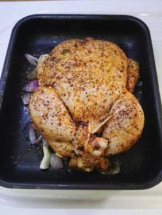 Κοτόπουλο ψητό !!!! ~ ΜΑΓΕΙΡΙΚΗ ΚΑΙ ΣΥΝΤΑΓΕΣ 2 The Kitchen Food Network, Food Network Recipes, Grilling, Turkey, Food And Drink, Meals, Chicken, Greek, Christmas