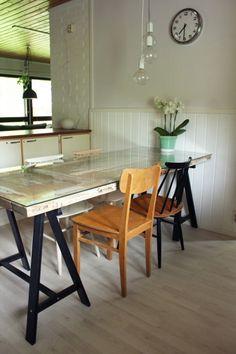 Diy: romusta pöydäksi