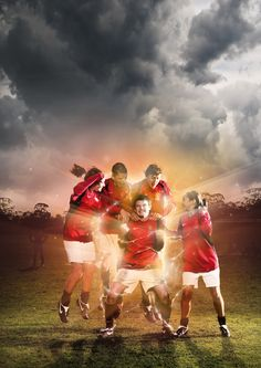 Custom Soccer Poster Design Inspiration | Poster Studio - tough girls on the ice?
