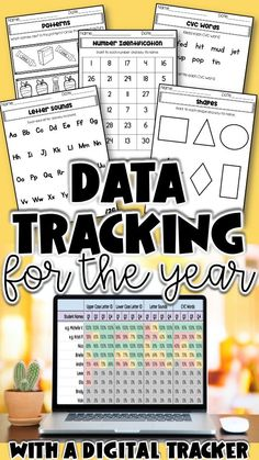 Student data tracking and progress monitoring made simple for classroom teachers. Goal tracking data sheets, forms and digital trackers make creating small groups, writing IEPs, and lesson planning meaningful.  A year long organization system for special education and general education teachers Student Data Forms, Student Data Tracking, Goal Tracking, Kindergarten Lessons, Math Lessons, Kindergarten Phonics, Anecdotal Notes, Phonics Centers, First Grade Phonics