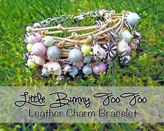 Leather Charm Bracelet with NEW Swarovski Pearls | Loose Ends