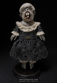 'Minka' – Exquisite Monster Art Doll  by Shain Erin.