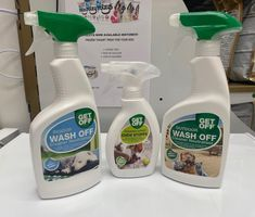 Protecting your Garden and Home 🏠 💥Get OFF range discourages your pets from soiling areas in your house or garden 💥Chew stoppa discourages your pet from chewing furniture ‼️Urine OFF for stains and odours 💩Pooper scoopers & Bio degradable waste bags Spray Bottle, Cleaning Supplies, Your Pet, Stains, Range, Pets, Garden, House, Furniture