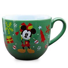 Mickey Mouse Disney Mug perfect for hot cocoa and gingerbread lattes Disney Coffee Mugs, Cute Coffee Mugs, Cute Mugs, Coffee Cups, Disney Home, Disney Dream, Disney Magic, Disney Dishes, Disney Cups