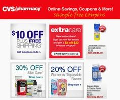 Printable Coupons: Cvs Pharmacy Coupons