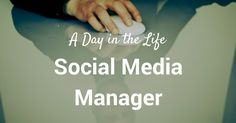 A Day in the Life of a Social Media Manager: How to Spend Time on Social Media via bufferapp.com //