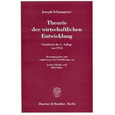 Theorie der wirtschaftlichen Entwicklung
