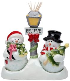 Cosmos Gifts 10650 Snowman Salt and Pepper Set/Toothpick Holder, 5-1/4-Inch Cosmos Gifts,http://www.amazon.com/dp/B00BK5938E/ref=cm_sw_r_pi_dp_8rcLsb0K3EFX30S8