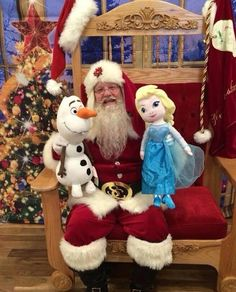 Santa wants to bring your child Elsa and Olaf from Frozen! www.youravon.com/joylehman Only $29.99 each!