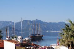 #turkish #gulet in the distance on a #Marmaris #April #morning... :)