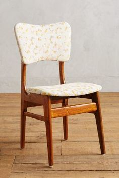 Anthropologie Quilted Linen Dining Chair #anthroregistry