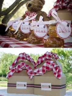 "Adorable Teddy Bear Picnic Party! Cute ""Little Bear LunchBox"""