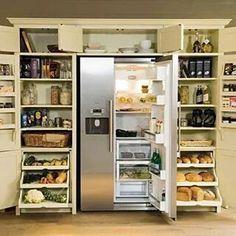 Top 10 The Best Kitchen Storage Ideas Larder With Fridge Freezer