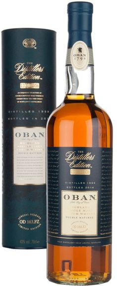 Caskers Selection: Oban Distillers Edition Single Malt Scotch ...