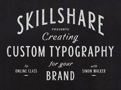 Skillshare by Simon Walker