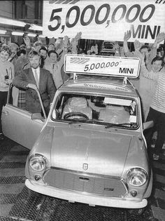 Mini Austin Morris Cooper history ---  Dude, I hate to tell you, but you put the steering wheel in the passenger compartment...