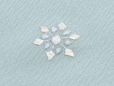 銀座もとじ ネットショップ / (単衣)訪問着 「日本刺繍 雪結晶 水色ぼかし」