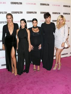 Pin for Later: 1 Way Kylie Stood Out From the Kardashian-Jenner Crowd at Cosmo's Big Party