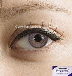 Freshlook Amethyst Contact Lenses