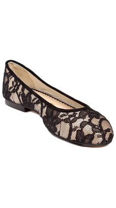 {Les Ballerines Flats} pretty in lace!