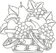 Fruit Basket Drawing Images & Pictures - Becuo