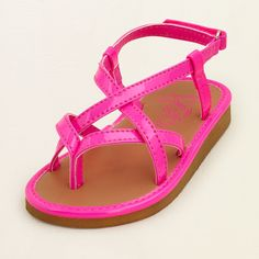 baby girl - shoes - neon calypso sandal | Children's Clothing | Kids Clothes | The Children's Place