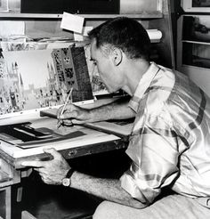 Image detail for -EYE-LIKEY: eyvind earle VINTAGE DISNEY SERIES 1950