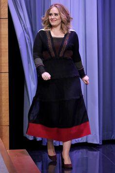 Adele in Valentino - Tonight Show 2015
