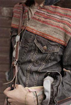 // jean jacket redone
