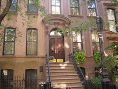 Carries Doorstep 66 Perry Street, N.Y.C (West Village, Manhattan)....MUST SEE list!!!