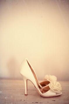 Beautiful Wedding shoes Emma &  Chris married in ibiza 2013