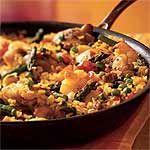 GF - Chicken and Shrimp Paella Recipe   MyRecipes.com