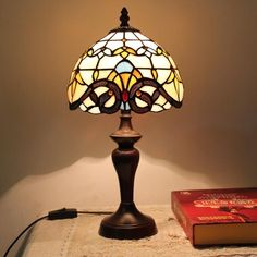 Sun's Gate Tiffany Desk Lamp for Children