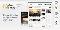 Goodnews – Responsive WordPress Stylish News Magazine Theme
