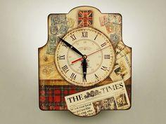#часы #old_clock #shebby #ручная работа