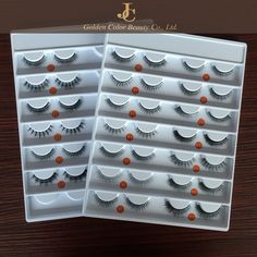 top quality luxury fully handmade 3D real mink fur false eyelash