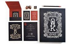 Design Work Life » Oak Long Bar by Korn Design