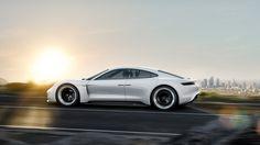 Porsche Concept Study Mission E.