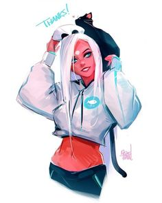 Nima s Kickstarter just got funded past 400 THANK YOU GUYS SO MUCH The love and support for it has been nothing but incredible Just one more week to go If you want to check out my book link is in my bio - Girl Cartoon, Cartoon Art, Ross Draws, Character Inspiration, Character Art, Trans Art, Digital Art Girl, Drawing People, Anime Art Girl