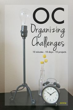 """10 Minute Daily Organizing Challenges - """"The Organizing Challenge gives small projects that are often overlooked but can create chaos if left unchecked."""" Morganize with Me Declutter Your Home, Organizing Your Home, Organizing Tips, Daily Organization, Clutter Organization, Finding A House, Minimalist Home, Getting Organized, Home Buying"""