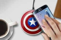 Captain America Qi Wireless Phone Charger Pad