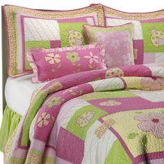 Pretty in Pink Quilt Set, 100% Cotton - Bed Bath & Beyond