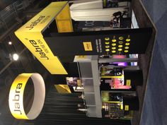Jabra 2013 CES booth displaying our new Music line up!