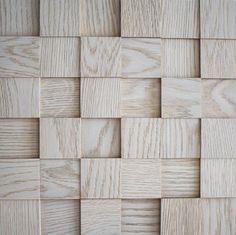 Tree-D Mosaics Pearl White Oak 1