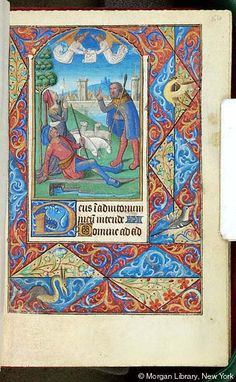 Book of Hours, MS G.4 fol. 54r - Images from Medieval and Renaissance Manuscripts - The Morgan Library & Museum