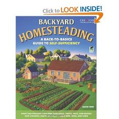 "Backyard Homesteading addresses the needs of many people who want to take control of the food they eat and the products they use--even if they live in a urban or suburban house on a typical-size lot. It shows homeowners how to turn their yard into a productive and wholesome ""homestead"" that allows them to grow their own fruits and vegetables, and raise farm animals, including chickens and goats. $11.53"